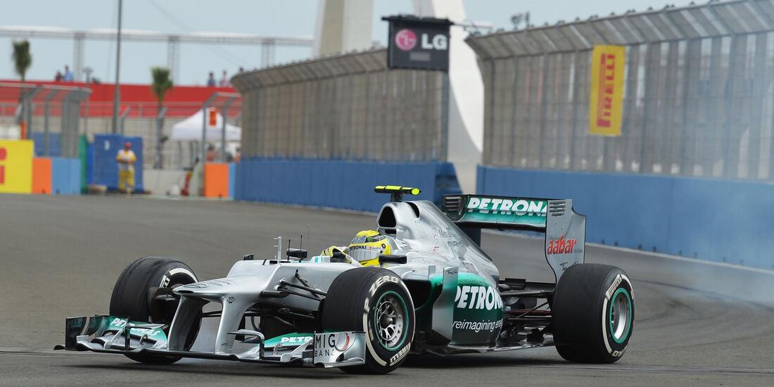 Nico Rosberg GP Europa 2012