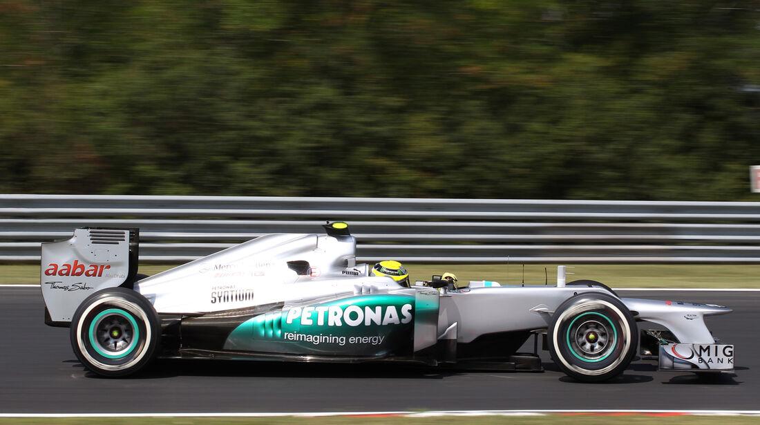 Nico Rosberg GP Ungarn 2012