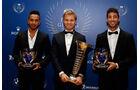 Nico Rosberg - Lewis Hamilton - Daniel Ricciardo - FIA-Gala 2016 - Preisverleihung