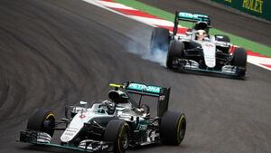 Nico Rosberg - Lewis Hamilton - Mercedes - Formel 1 - GP Österreich - 3. Juli 2016