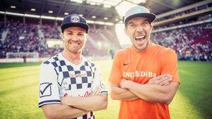 Nico Rosberg & Lukas Podolski - Mainz - 2016