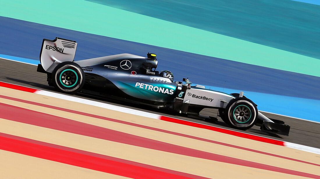 Nico Rosberg - Mercedes - Formel 1 - GP Bahrain - 17. April 2015