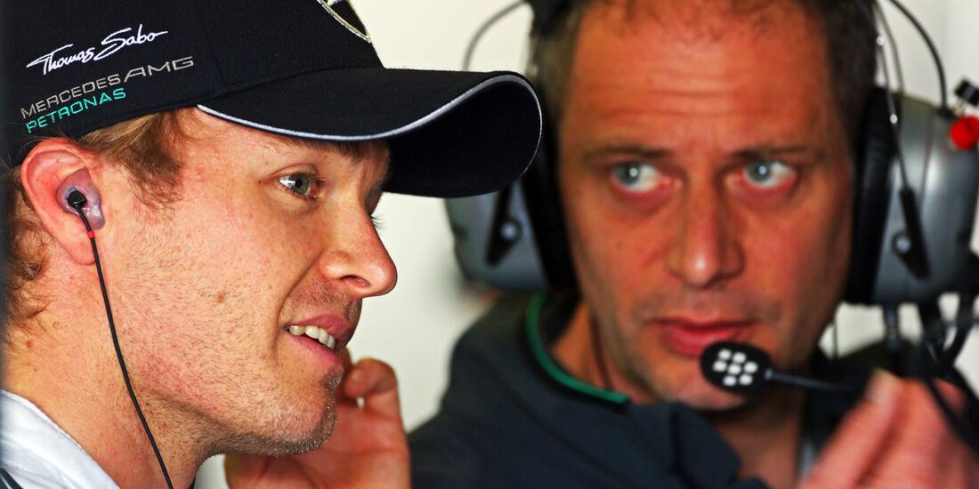 Nico Rosberg - Mercedes - Formel 1 - GP England  - Silverstone - 4. Juli 2014