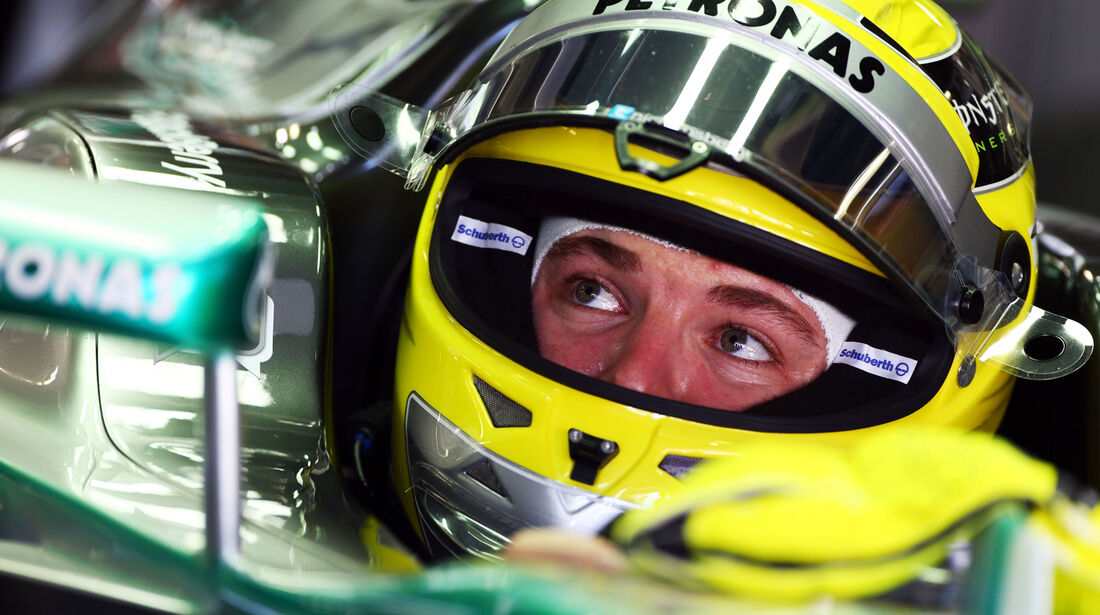 Nico Rosberg - Mercedes - Formel 1 - GP Japan 2013