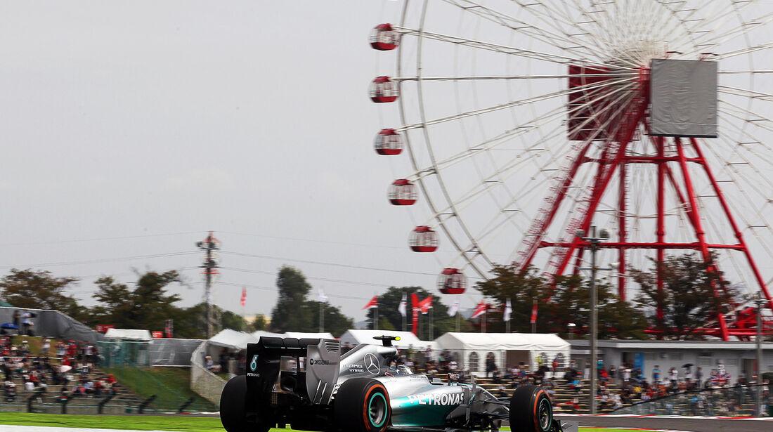 Nico Rosberg - Mercedes - Formel 1 - GP Japan - 3. Oktober 2014