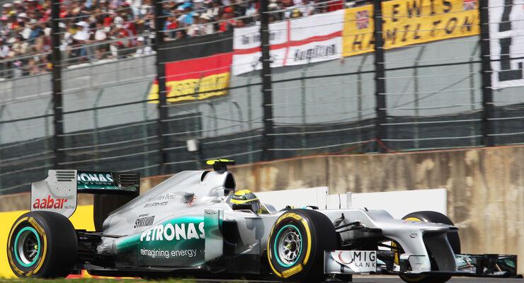 Nico Rosberg - Mercedes - Formel 1 - GP Japan - Suzuka - 6. Oktober 2012