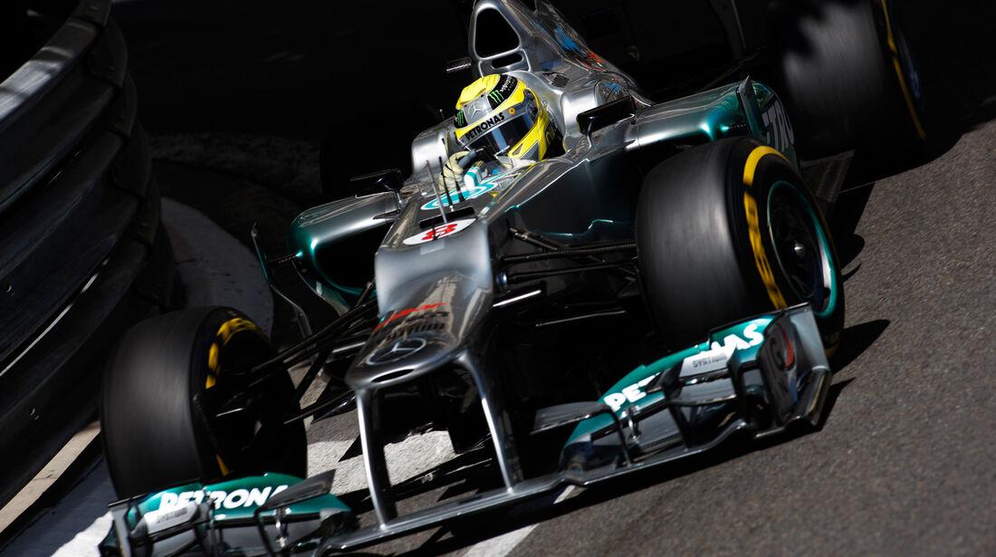 Nico Rosberg - Mercedes - Formel 1 - GP Monado - 24.Mai