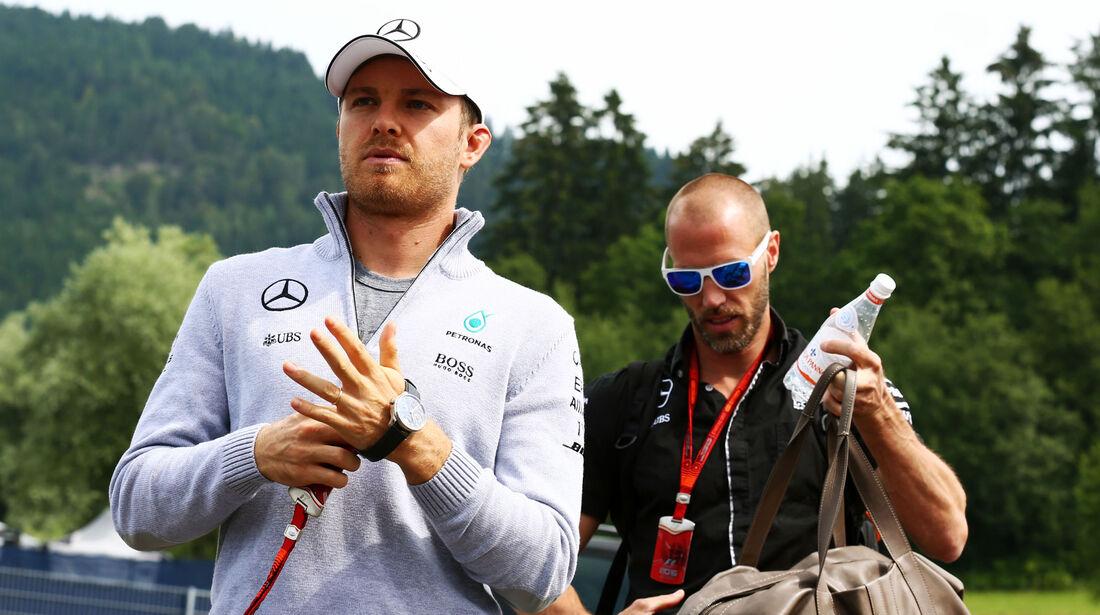 Nico Rosberg - Mercedes - Formel 1 - GP Österreich -  30. Juni 2016