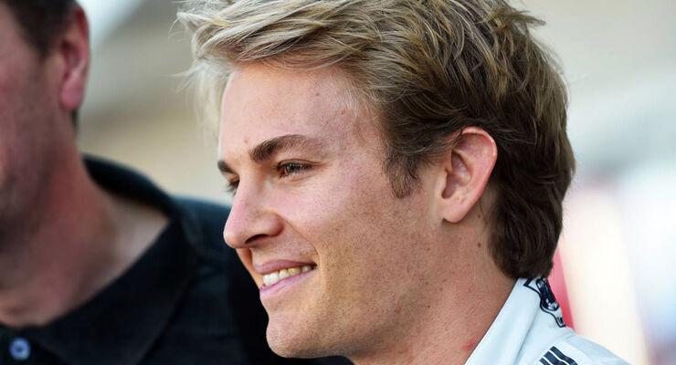Nico Rosberg - Mercedes - Formel 1 - GP USA - 30. Oktober 2014