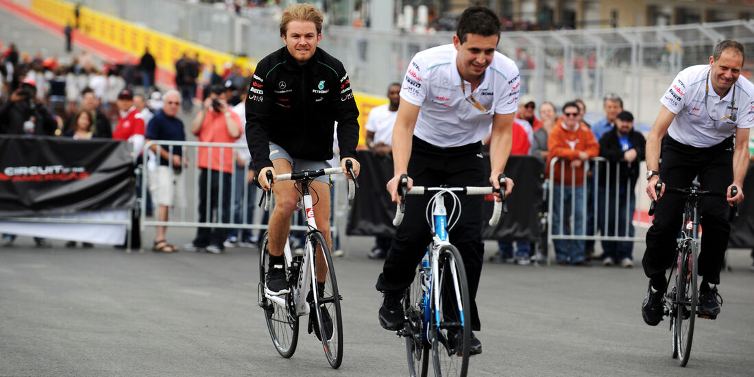 Nico Rosberg - Mercedes - Formel 1 - GP USA - Austin - 15. November 2012