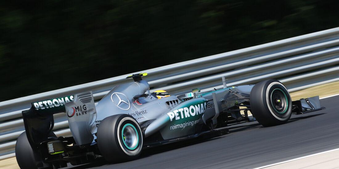 Nico Rosberg - Mercedes - Formel 1 - GP Ungarn - 27. Juli 2013
