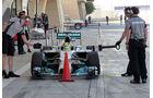 Nico Rosberg - Mercedes - Formel 1 - Test - Bahrain - 22. Februar 2014
