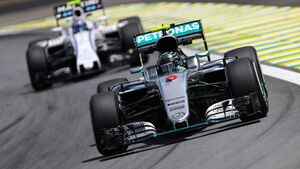 Nico Rosberg - Mercedes- GP Brasilien 2016 - Interlagos