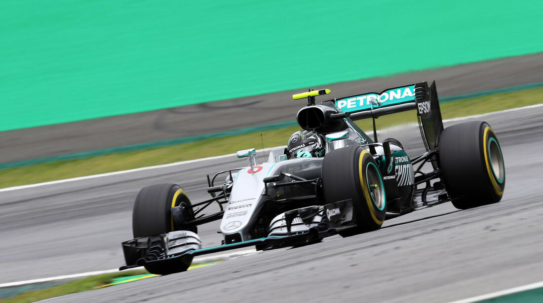 Nico Rosberg - Mercedes - GP Brasilien 2016 - Interlagos - Qualifying