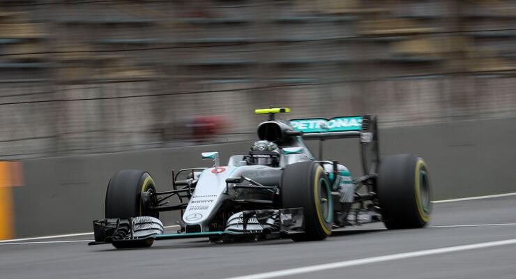 Nico Rosberg - Mercedes - GP Brasilien 2016 - Interlagos