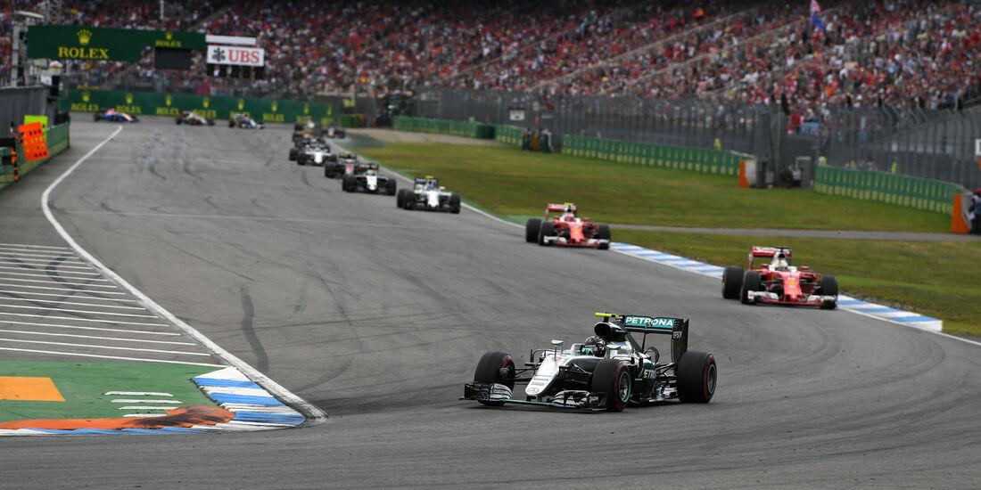 Nico Rosberg - Mercedes - GP Deutschland 2016 - Hockenheim
