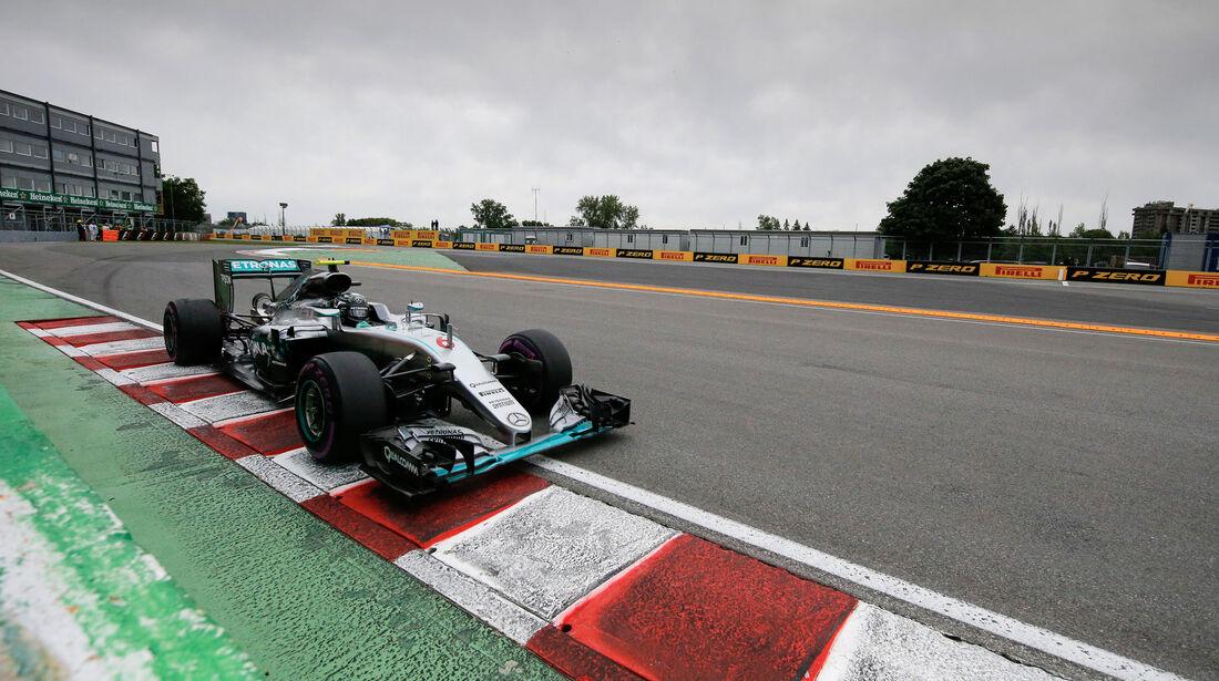 Nico Rosberg - Mercedes - GP Kanada 2016 - Montreal - Qualifying