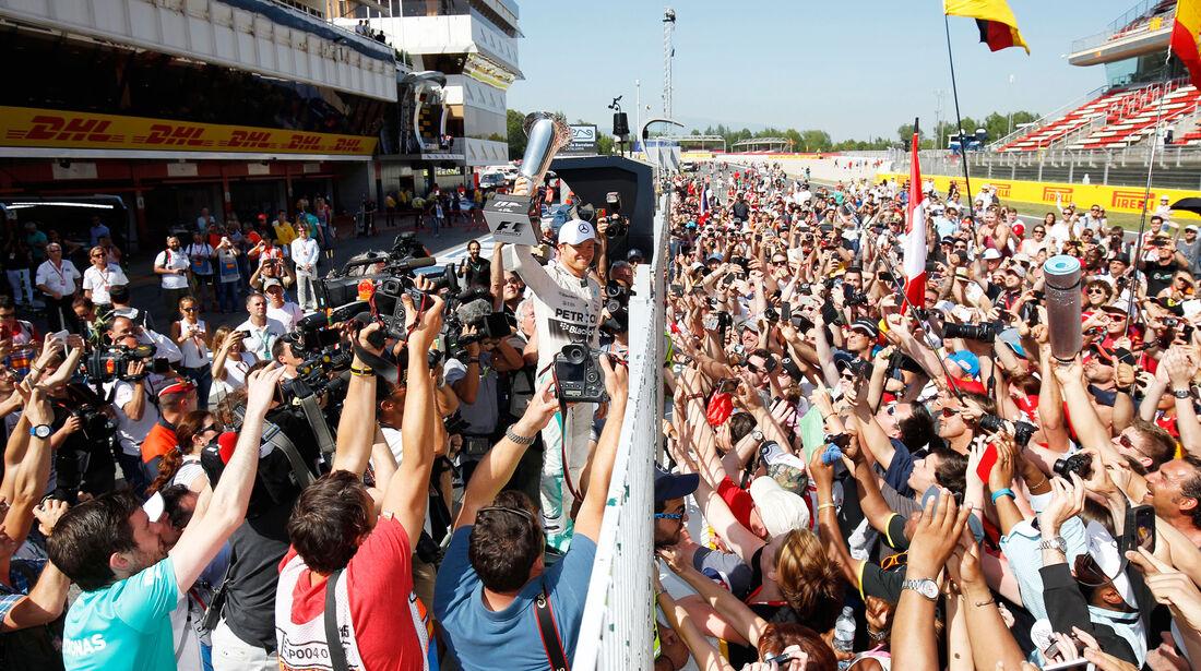 Nico Rosberg - Mercedes - GP Spanien 2015 - Rennen - Sonntag - 10.5.2015