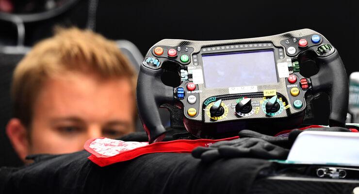 Nico Rosberg - Mercedes - Lenkrad 2016