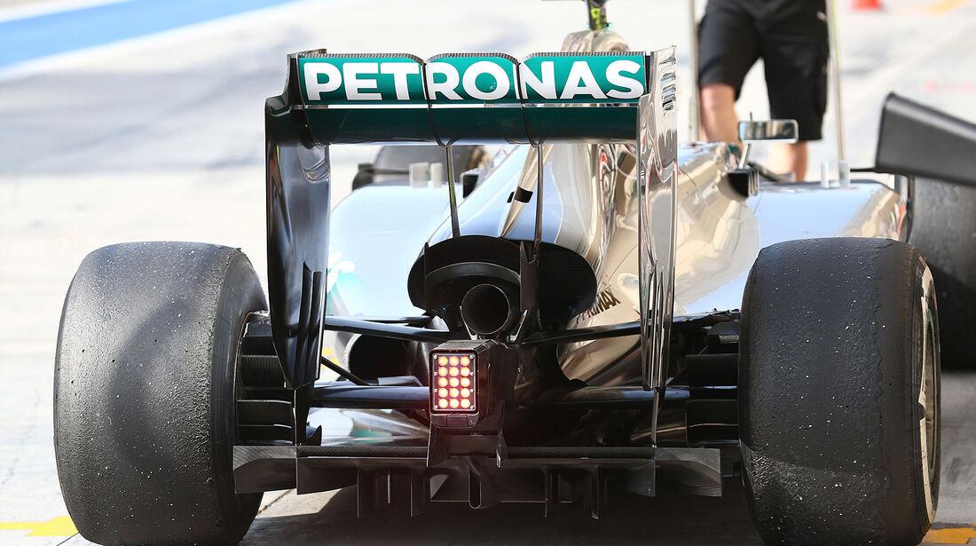 Nico Rosberg - Mercedes - Test - Bahrain - 27. Februar 2014