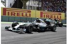 Nico Rosberg - Mercedes W05 - GP Brasilien 2014