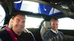 Nico Rosberg fährt Mercedes SLK
