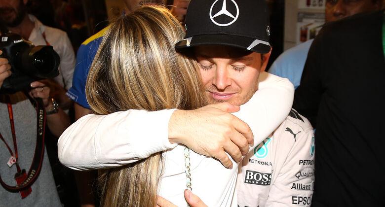 Nico & Vivian Rosberg - Formel 1 - GP Abu Dhabi 2016