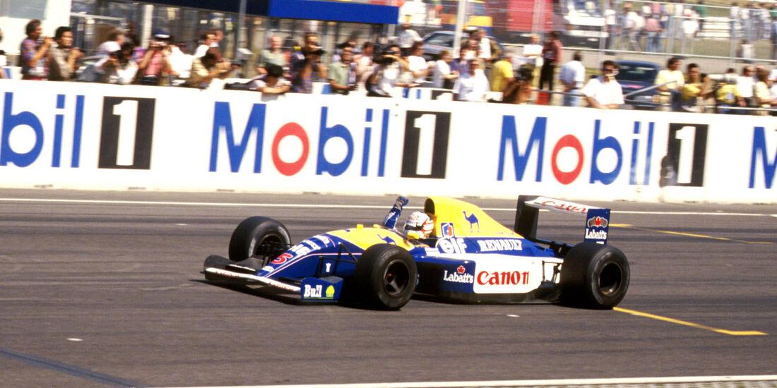 Nigel Mansell - GP Deutschland 1991