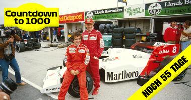 Niki Lauda & Alain Prost - Formel 1 - 1984