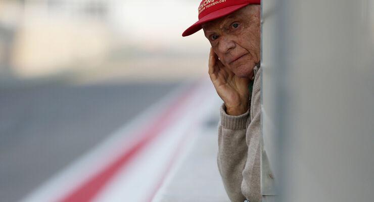 Niki Lauda - Bahrain - Formel 1 Test - 2014