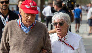 Niki Lauda & Bernie Ecclestone - GP Bahrain 2018