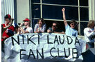Niki Lauda - Fan-Club - Long Beach 1982