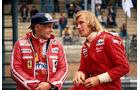 Niki Lauda - Ferrari - James Hunt - McLaren - Zolder 1977