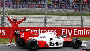 Niki Lauda - McLaren MP4-2 - Legends Parade - GP Österreich 2015