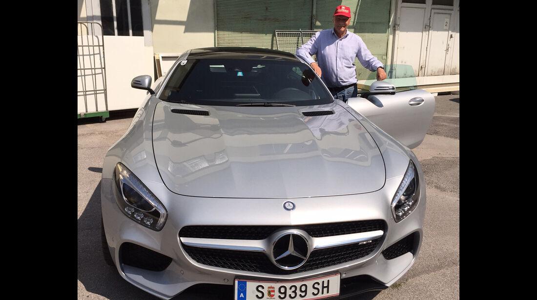 Niki Lauda - Mercedes AMG GT