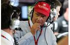 Niki Lauda - Mercedes - Formel 1 - GP Brasilien- 14. November 2015