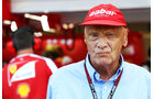 Niki Lauda - Mercedes - Formel 1 - GP Singapur - 21. September 2013