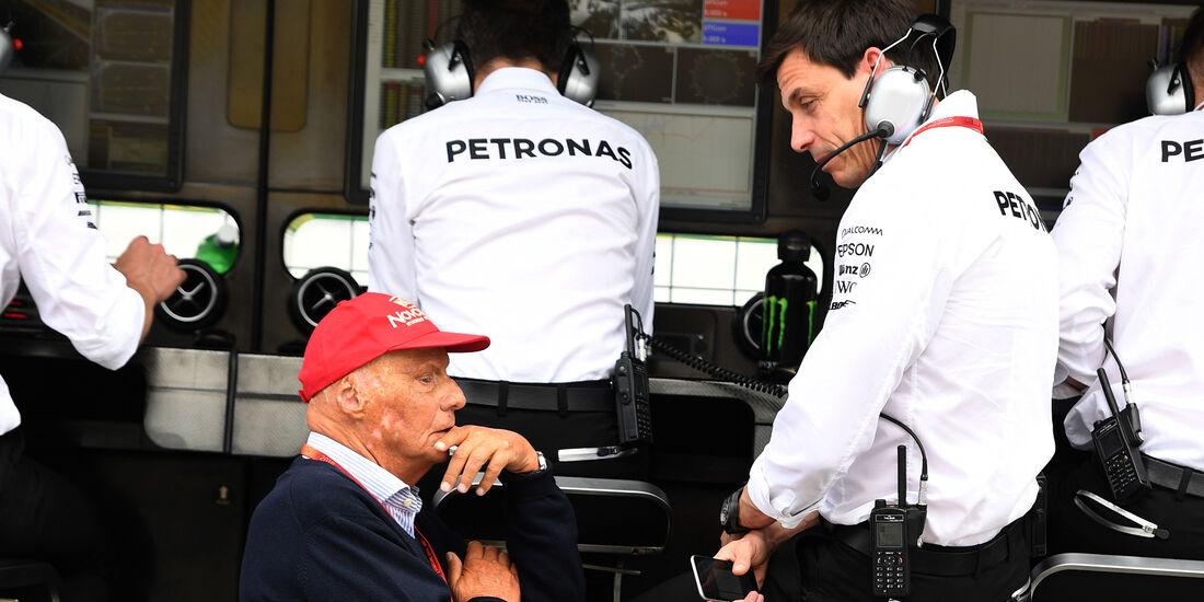 Niki Lauda & Toto Wolff - Mercedes - Formel 1 - GP Deutschland - 29. Juli 2016
