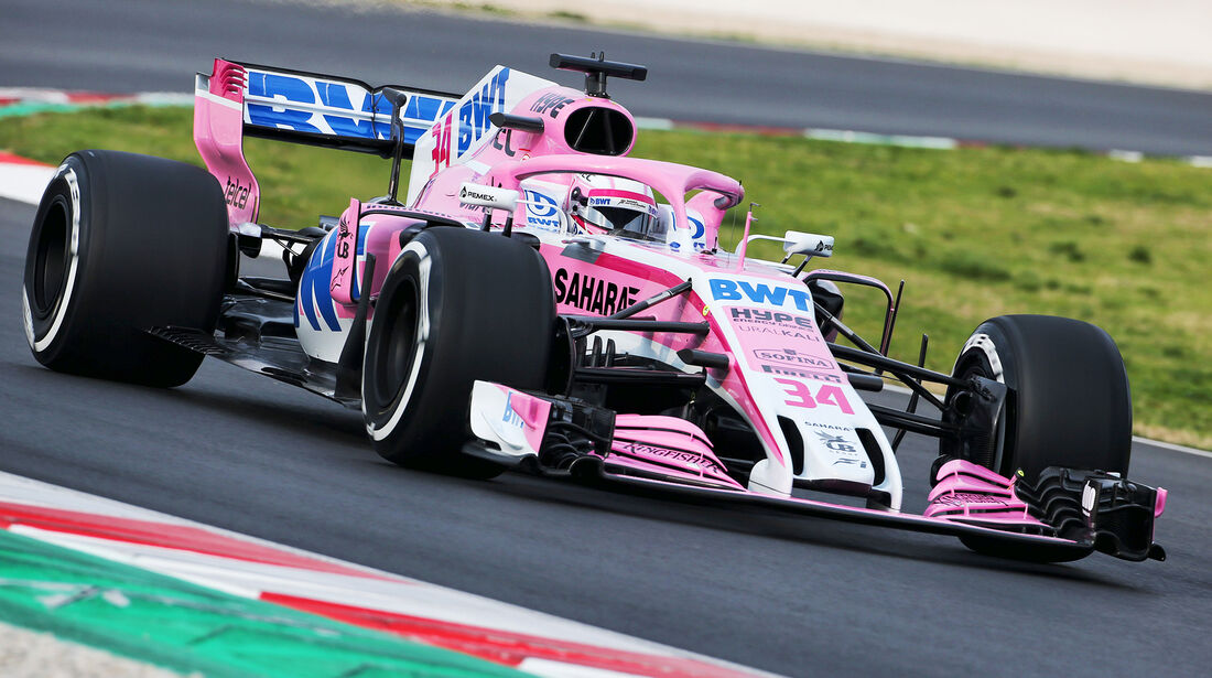 Nikita Mazepin - Force India - Barcelona F1-Test 2018 - Tag 1