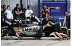 Nikita Mazepin - Force India - Formel 1 - Silverstone-Test - 13. Juli 2016
