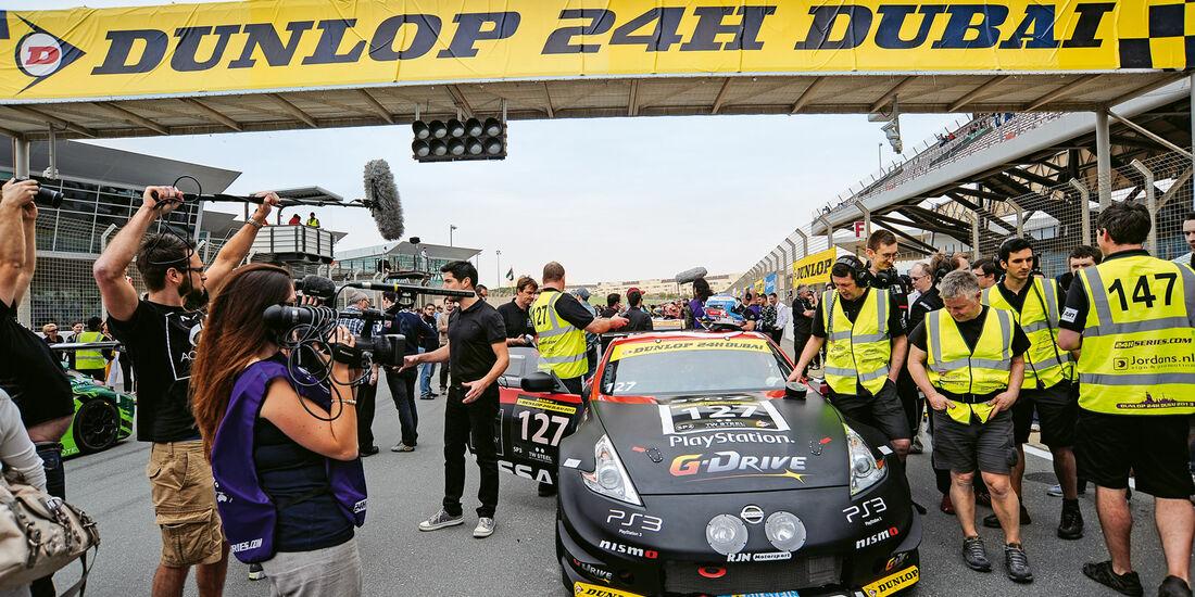 Nissan, Dubai, GT-Rennsport