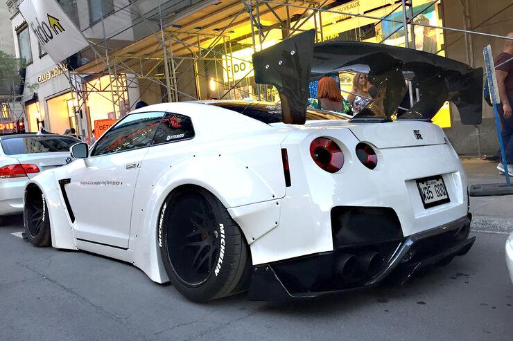 Nissan GT-R - Carspotting - GP Kanada 2018