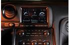 Nissan GT-R, Mittelkonsole, Monitor