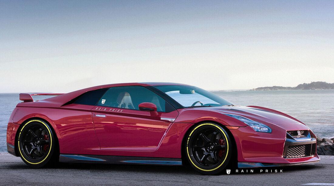 Nissan GT-R - Mittelmotor - Design-Konzept - Grafikkünstler Rain Prisk