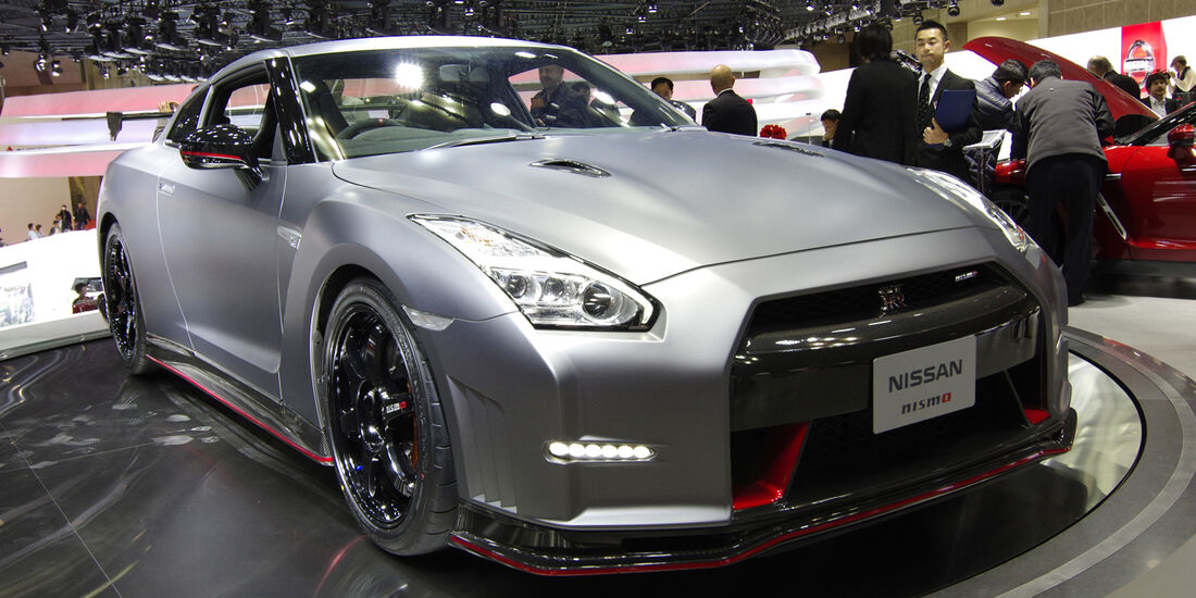 Nissan GT-R Nismo front site Tokio Motor Show