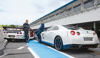 Nissan GT-R, Nissan Skyline GT-R BNR32, Heckansicht