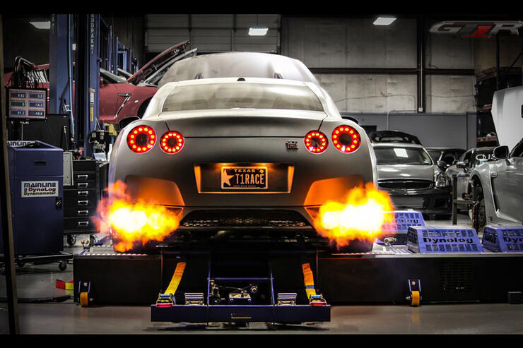 Nissan GT-R, R35, T1 Race Development, Dragster, 2.400 PS, Tony Palos