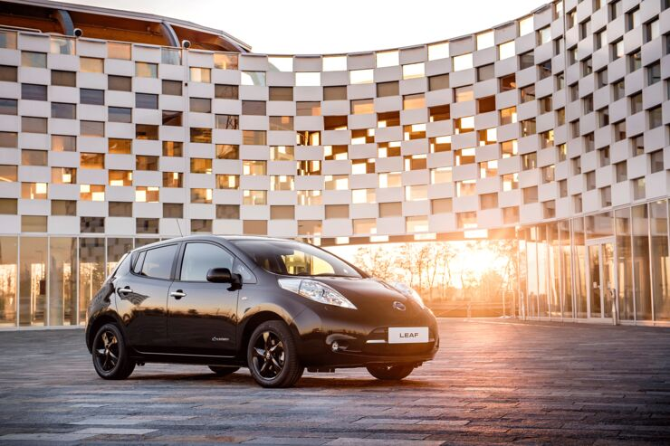 Nissan Leaf Black Edition 2016