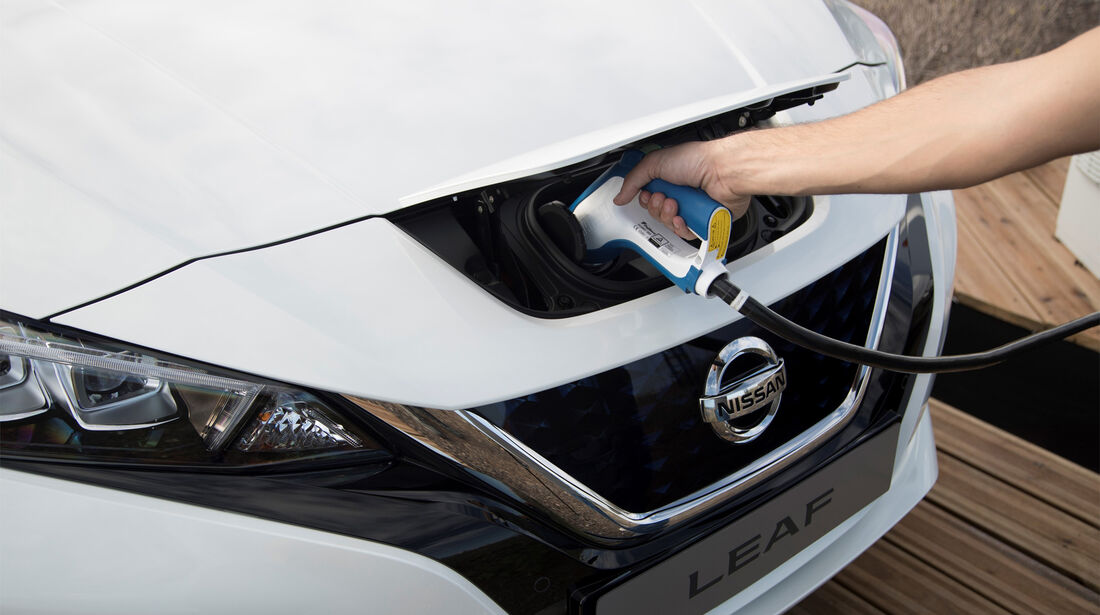 Nissan Leaf (ZE1) 2018