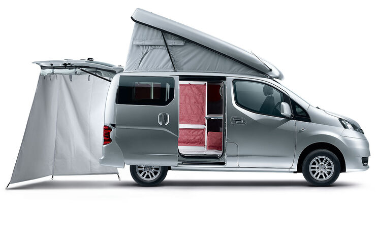 nissan nv 200 evalia reisemobil stadtindianer 8 qm. Black Bedroom Furniture Sets. Home Design Ideas